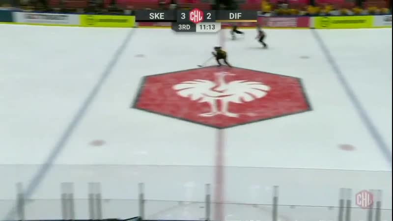 HOW ABOUT THIS @skelleftea aik put the puck into their own net on the delayed penalty