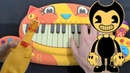 Bendy and The Ink Machine - Build Our Machine (Cat Piano, Chicken, Drum Calculator Cover)