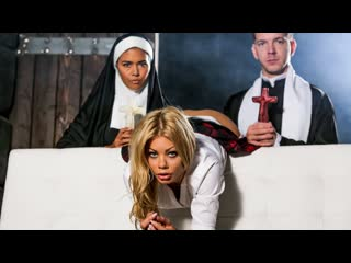 Dana Vespoli, Riley Steele - Ministry Of Evil Sc. 4: Anal Blasphemy (Anal, Threesome, Blowjob, Big Tits, Hardcore, Blonde)