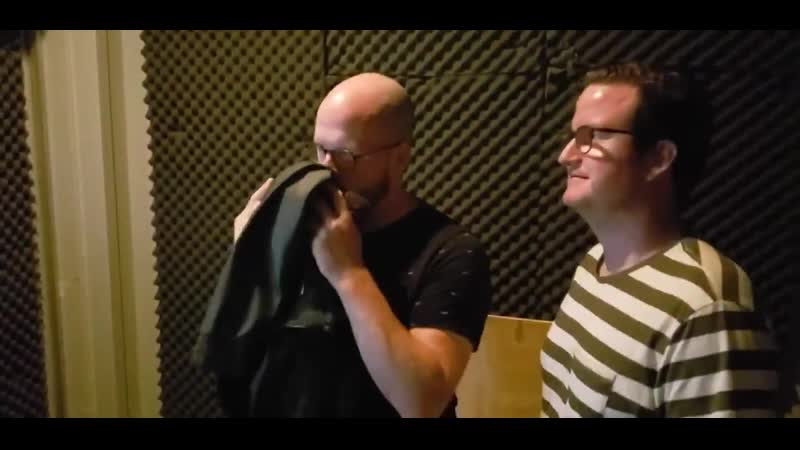 Our sound designers @WillemSchonken and @WhatNowErich are - - A just practicing their dail