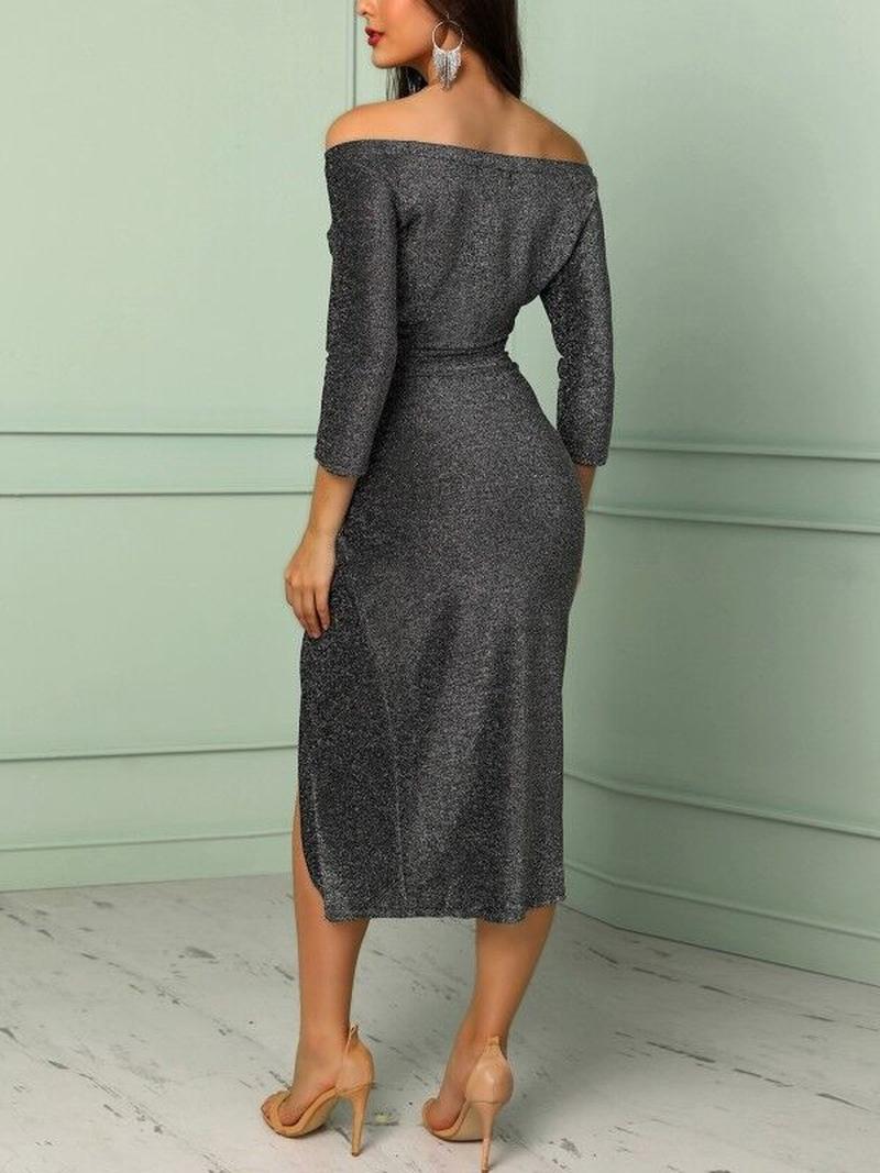 Блестящее платье из люрекса-идеальный наряд для Нового года!