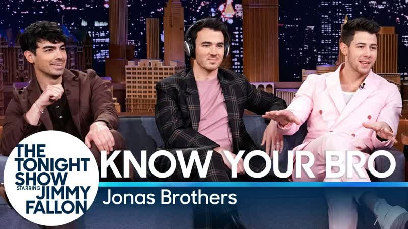 Know Your Bro with the Jonas Brothers RUS SUB