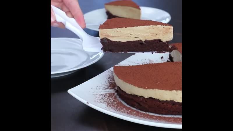 Шоколадный торт без муки с кофейным муссом Ингредиенты под видео Больше рецептов в группе Десертомания