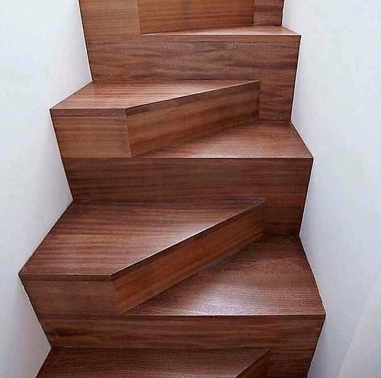 Такого я ещё не видел - креативная лестница