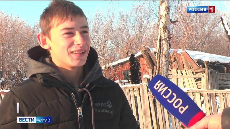 Подросток из Быстрого Истока спас жизнь соседу