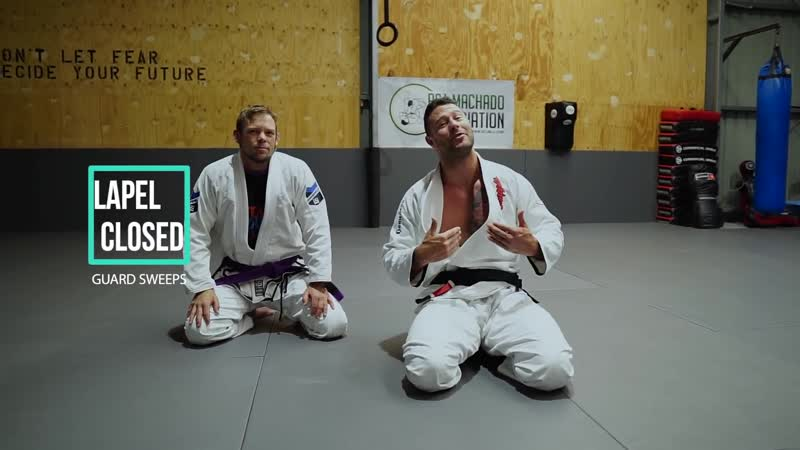 Awesome Lapel Closed Guard Sweeps bjf_base