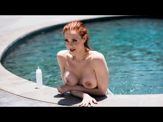 Maitland Ward - Wet And Wild (Big Tits, Blowjob, Redheat)