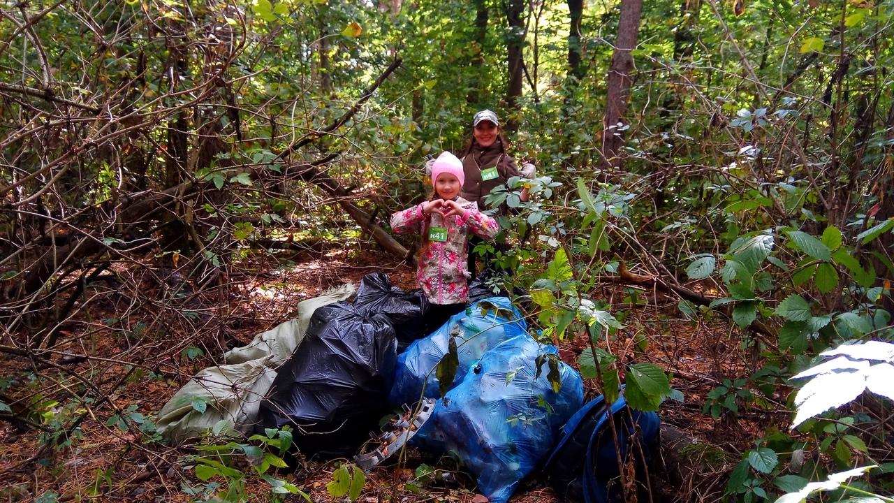 Во Всемирный день чистоты куряне собрали 3 тонны мусора