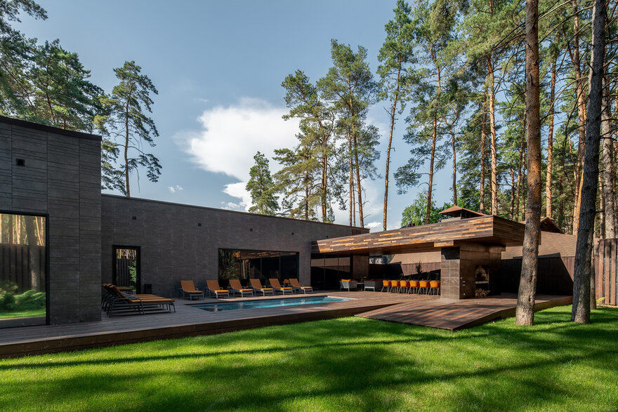 New Chalet by YOD Design Lab for Verholy Relax Park, Ukraine
