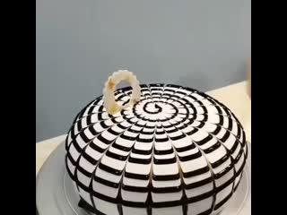 Невероятная красота на торте