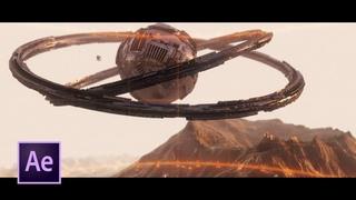 Sci-Fi Alien Ship Scene Animation in After Effects | Element 3D Tutorial