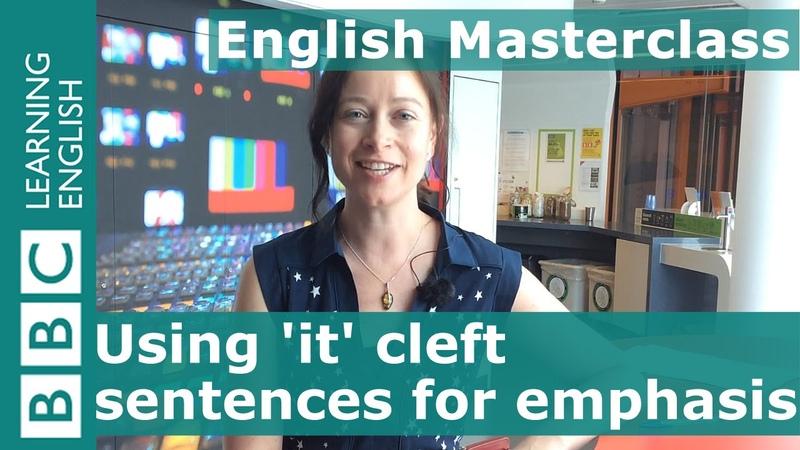 BBC English Masterclass Giving emphasis