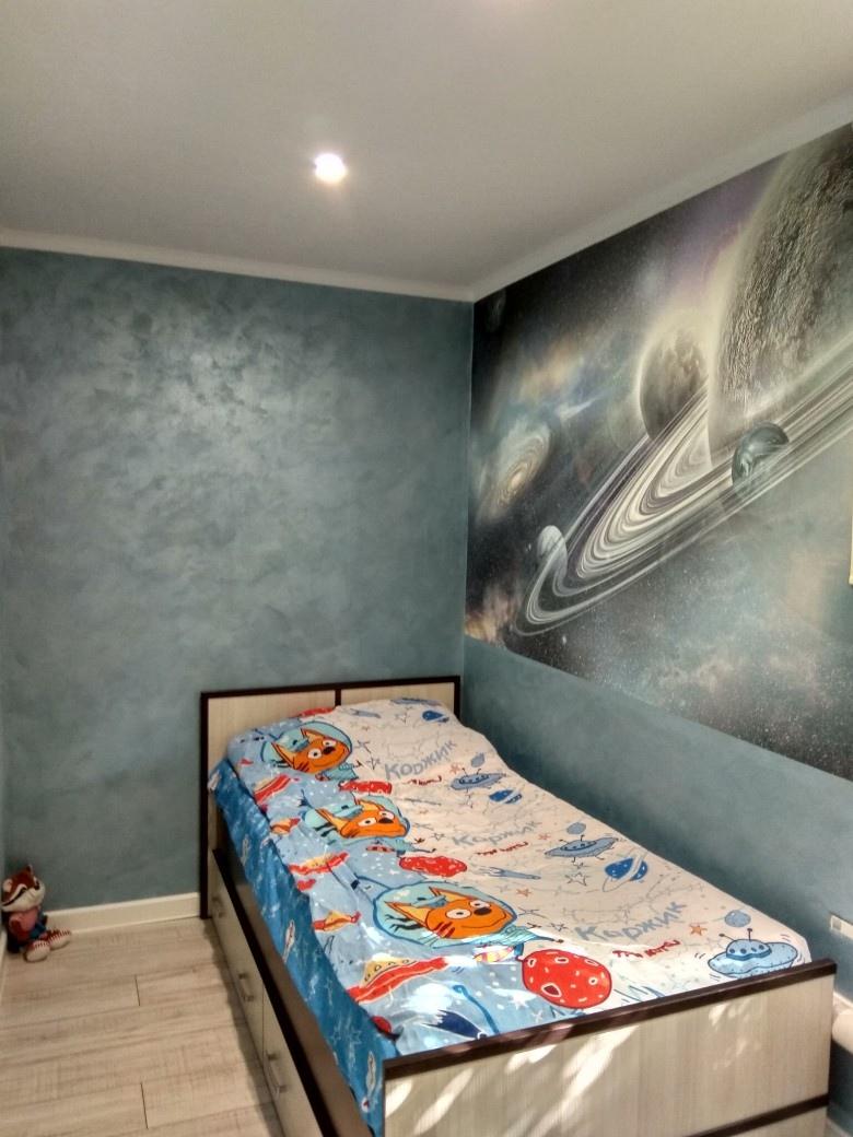 Ремонт в комнате сына своими руками