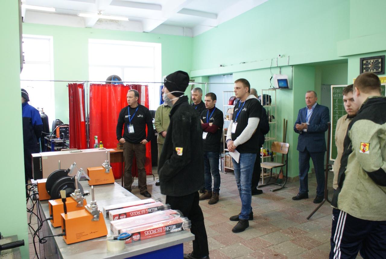 IV региональный чемпионат «Молодые профессионалы» (WorldSkills Russia) по компетенции «Сварочные технологии».2 день