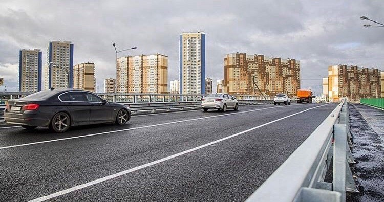 Открытие моста  #ПодслушаноДомодедово #Домодедово