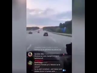 22 летний парень из Германии  влетел в фуру.