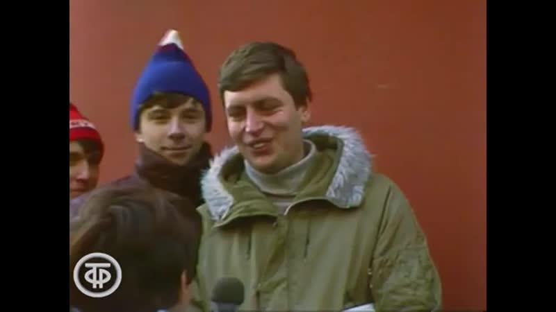 1985 Несколько интервью в театре им Маяковского