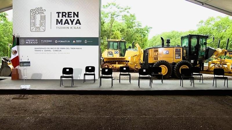 Banderazo de inicio de obra del Tren Maya desde Lázaro Cárdenas Quintana Roo