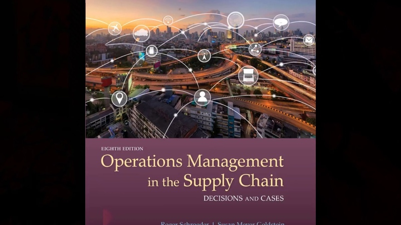 Test Bank for Operations Management in the Supply Chain Decisions and Cases 8th Edition