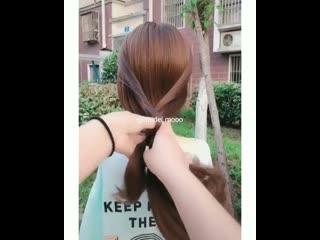 Самая быстрая красота на волосах