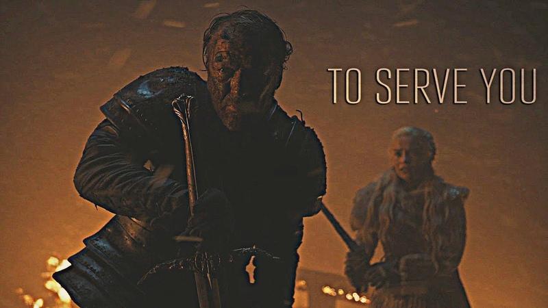 GoT Jorah Mormont To Serve You