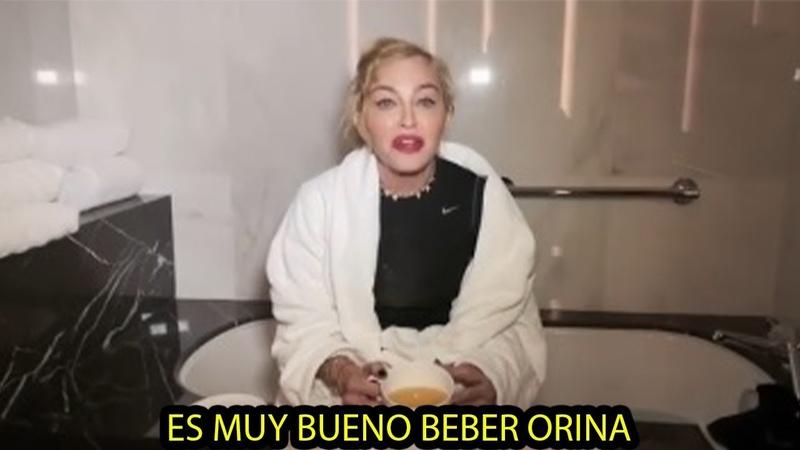 MIRA LO QUE HACE LA CANTANTE MADONNA A LAS 3 DE LA MAÑANA 2019