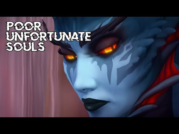 Sharm ~ Poor Unfortunate Souls Queen Azshara World Of Warcraft Parody