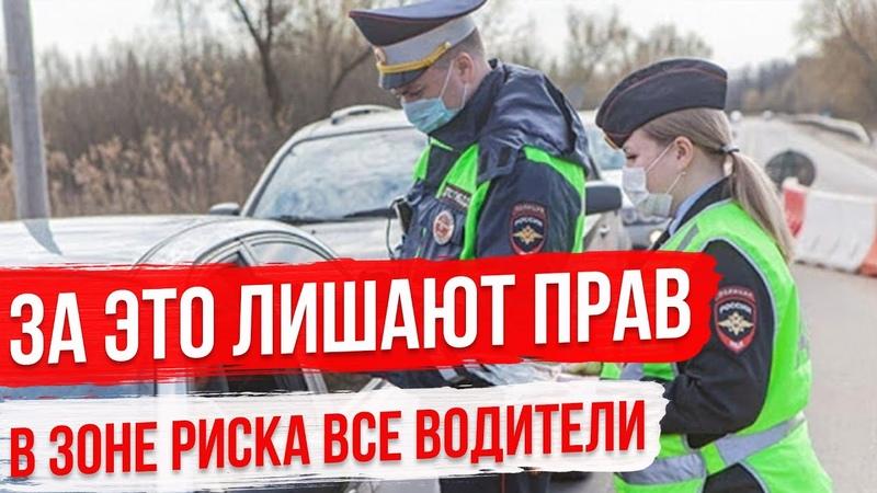 Уловки ГИБДД За что лишают прав в городе В зоне риска все водители