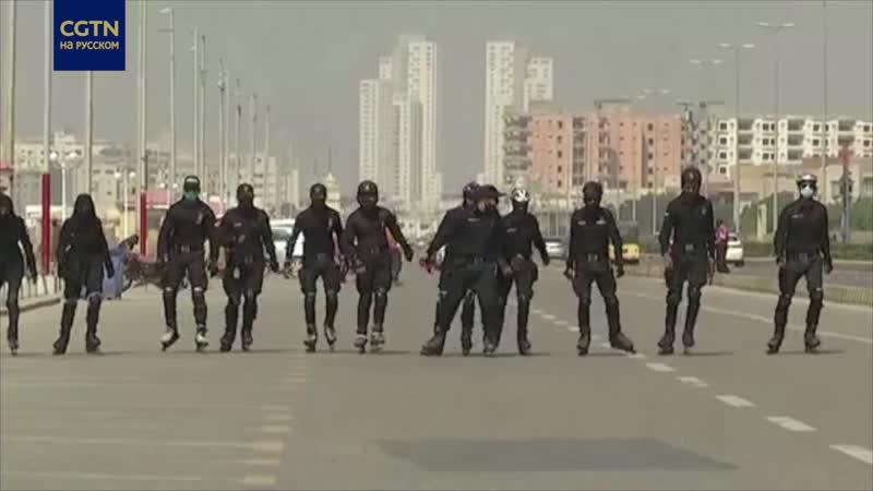 В пакистанском Карачи появится отряд полицейских на роликовых коньках
