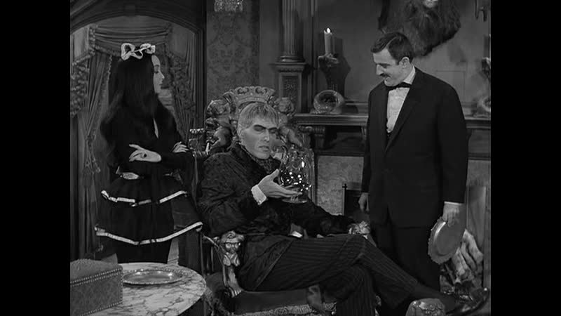 Семейка Аддамс 1964 1966 S01E17 Мать Ларча в гостях у семейки Аддамс
