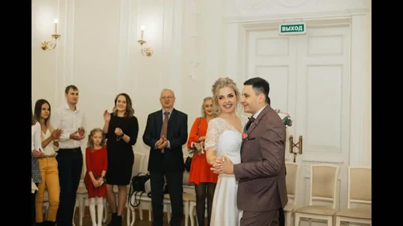 Слайд шоу из свадебных фотографий 💍
