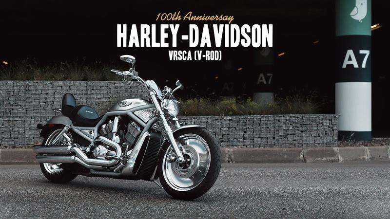 HARLEY DAVIDSON VRSCA 100TH ANNIVERSAY V ROD