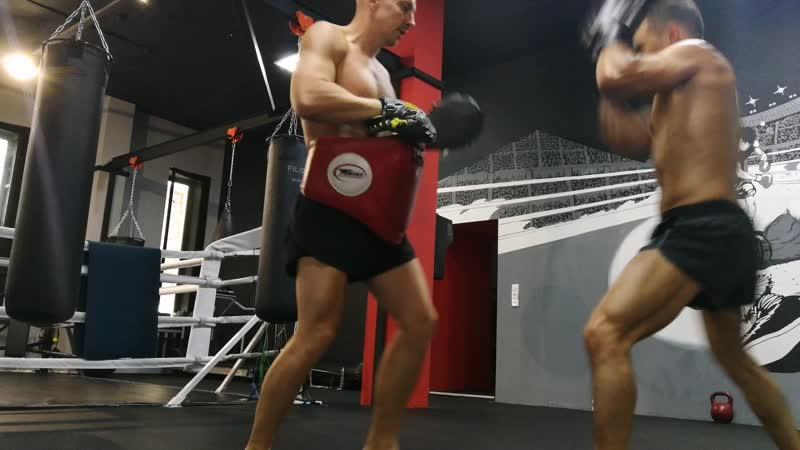 Персональные тренировки по тайскому боксу
