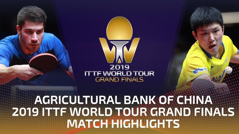 Patrick Franziska vs Tomokazu Harimoto 2019 ITTF World Tour Grand Finals Highlights R16