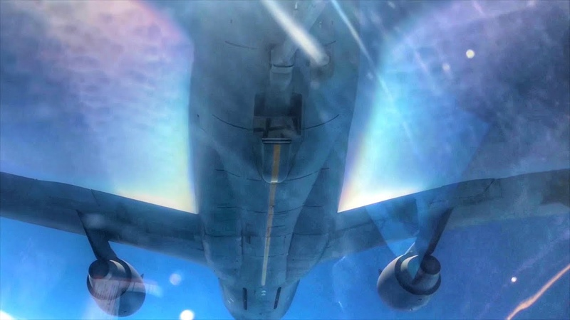Up-close View Of Aircraft Creating Contrails – USAF KC-10