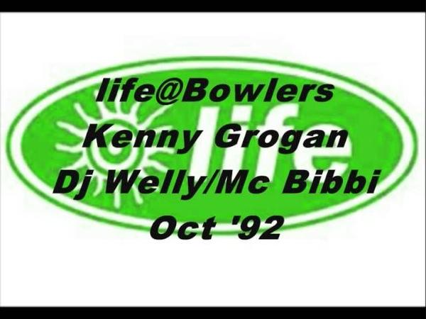 Life@Bowlers Kenny Grogan Dj Welly Mc Bibbi Oct 92