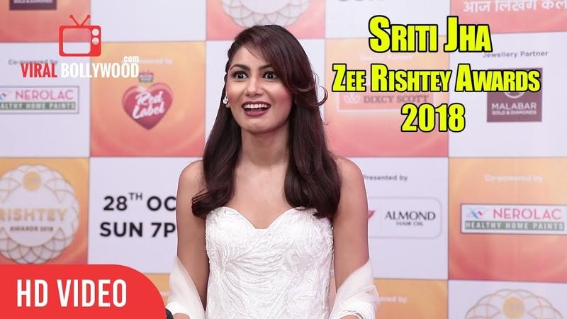 Beautiful Sriti Jha At Zee Rishtey Awards 2018 Pragya Kumkum Bhagya