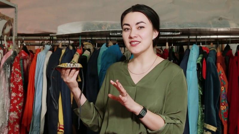 Алия Ишмухаметова ответственный хранитель фондовой коллекции текстиль Национального музея РБ.