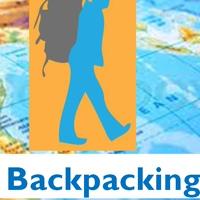 Логотип Всё про BACKPACKING (бэкпэкинг). Путешествия