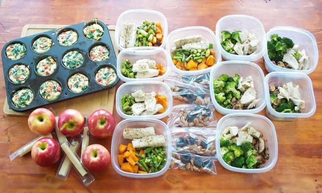 Дробное питание + 2 варианта меню на неделю