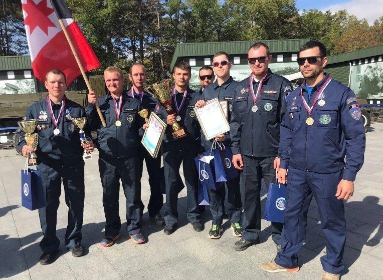 Спасатели Удмуртии заняли 2 место на Чемпионате