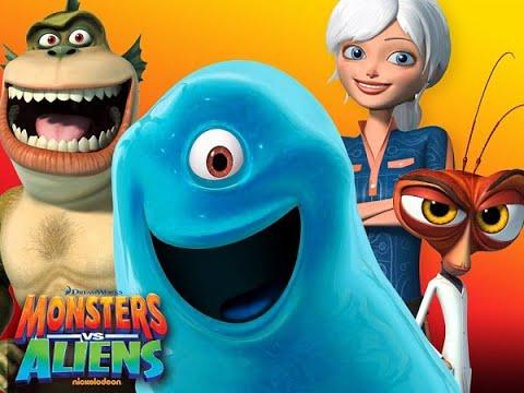 Играю в игру Монстры против Пришельцев Monsters vs Aliens Монстры