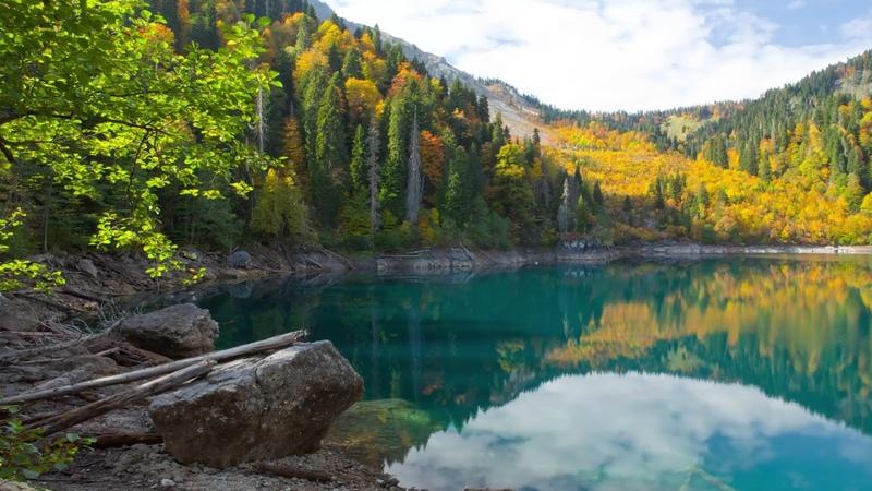 Озеро Малая Рица Горная Абхазия