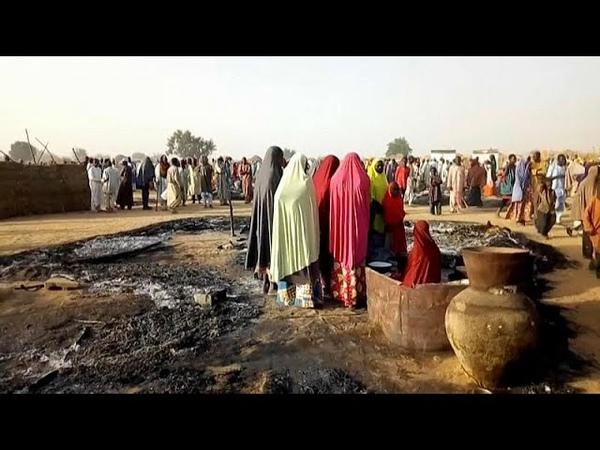 Nach Anschlag auf zwei Dörfer Mehr als 100 Tote