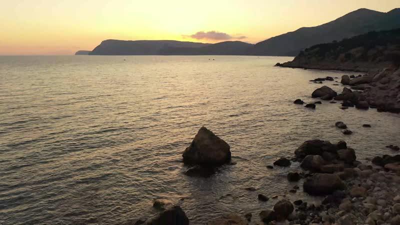 Дикий пляж Инжир Балаклава Юго Западное побережье Крыма