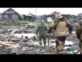 Работа команды Молодежки ОНФ в микрорайоне ЛДК г.Тулун
