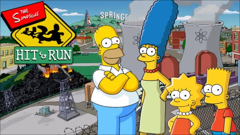 The Simpsons Hit and run. (end of vk)