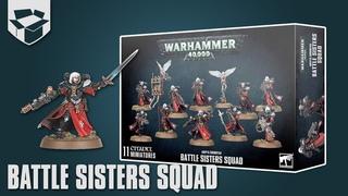 Анбоксинг - Adepta Sororitas Battle Sisters Squad