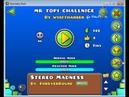 SPAM CHALLENGE Mr topi challnige 100 On Computer 75Hz Geometry Dash