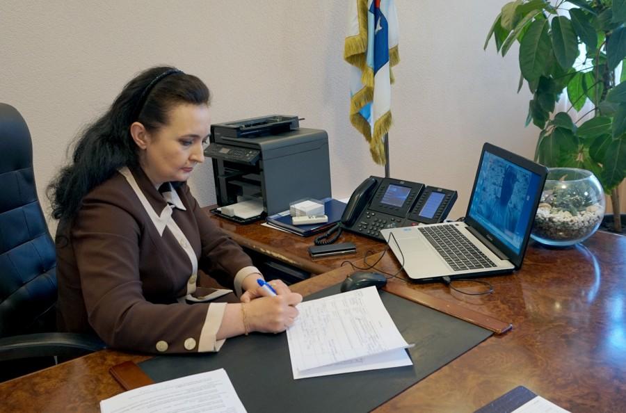 Инна Титаренко провела онлайн-прием жителей Таганрога